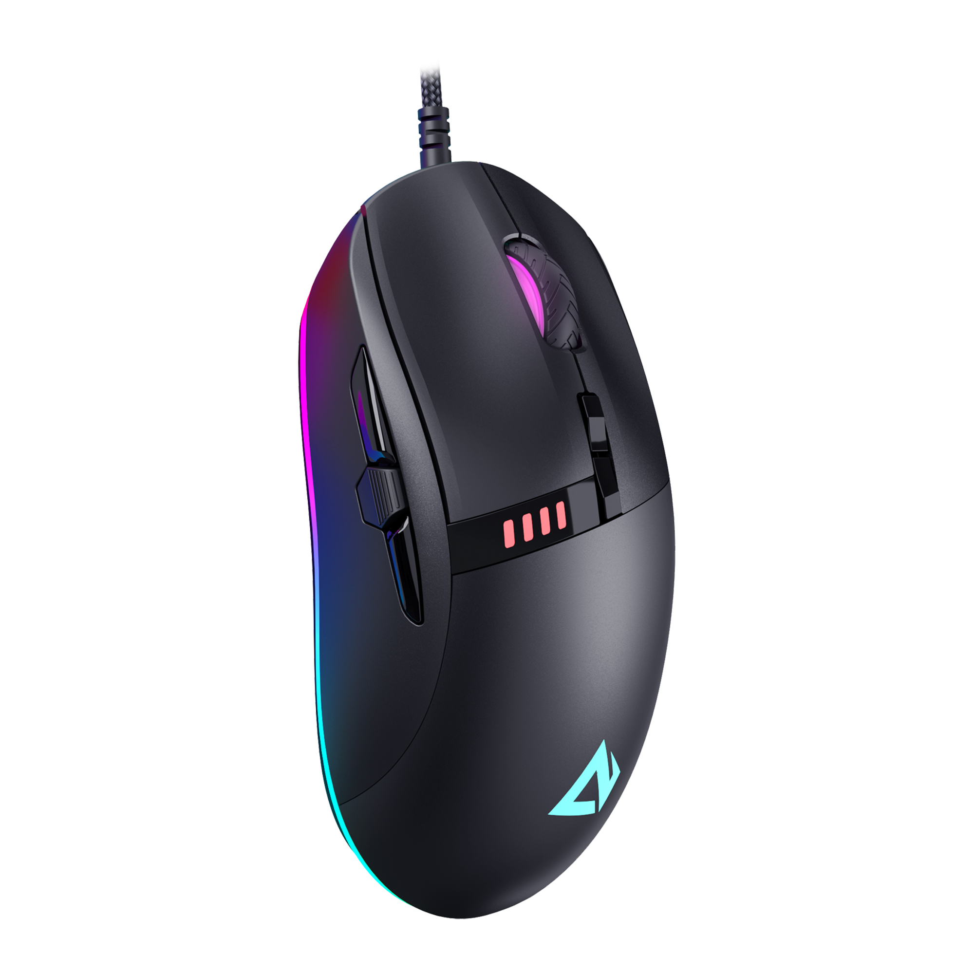 GM-F4 Knight Gaming Mouse RGB Wired with 10000 DPI