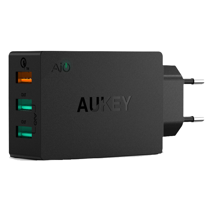 PA-T2 CHARGER 3 PORT 42W QC 2.0 & AiQ