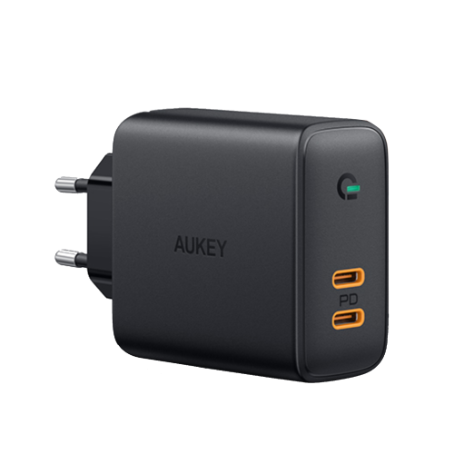 500393 - PA-D2 Dual-Port 36W PD Wall Charger with Dynamic Detect
