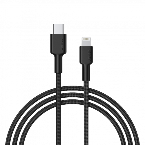 500367 - CB-CL2 Cable USB-C To Lightning 2m Braided Nylon Mfi Certified