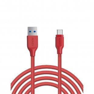 CB-AC2 Braided Nylon USB 3.1 Gen 1 to USB C Cable