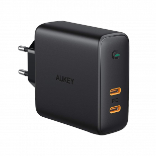 PA-D5 Dual-Port 60W PD Wall Charger with Dynamic Detect