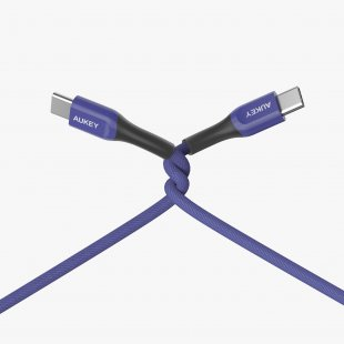 CB-AKC4  Cable USB C to C 2m Kevlar Material Blue