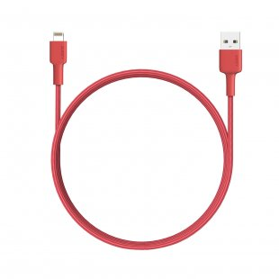 CB-BAL6  MFi Ligtning 8 PIN SYNC and Charging Cable Red - 500366