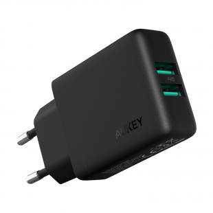 PA-U50 Dual-Port USB Wall Charger with GaN Power Tech