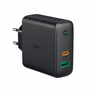 PA-D3 Dual-Port 60W PD Wall Charger with Dynamic Detect