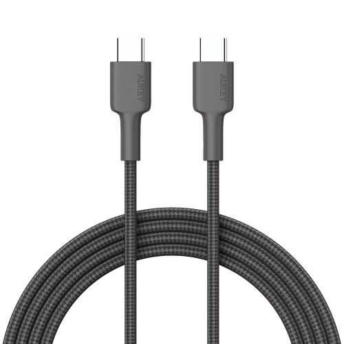 500428 - CB-CD19 Cable  Braided C to C 2M Black