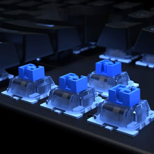 500552 - KM-G6 Keyboard  with Outemu blue switches