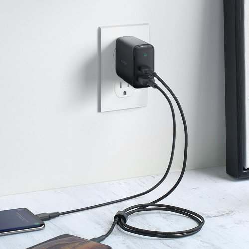 500392 - PA-D1 Dual-Port 30W PD Wall Charger with Dynamic Detect