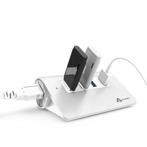 500272 - CB-H5 HUB Alumunium 4 Port USB 3.0