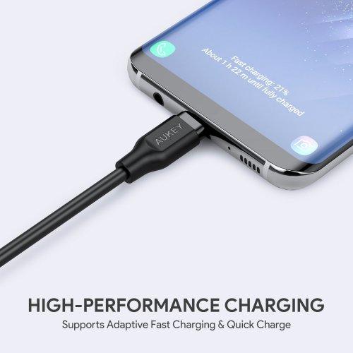 500283 - CB-CMD3 Cable 1M USB A to USB C 3.0 PVC (3pcs)