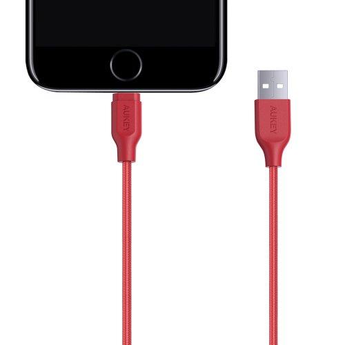 500210/500211 - CB-AL1 Cable 1.2M Lightning Braided MFI Apple Black
