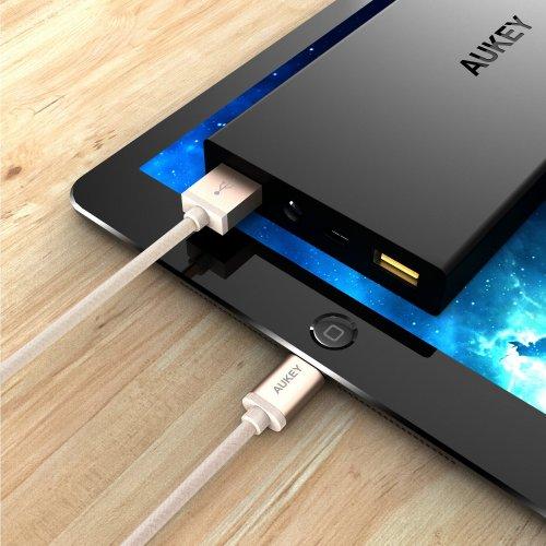 500084(GL)/500085(SLV)/500086(BL) - CB-D16 Nylon Free Lightning Cable 1.2 m