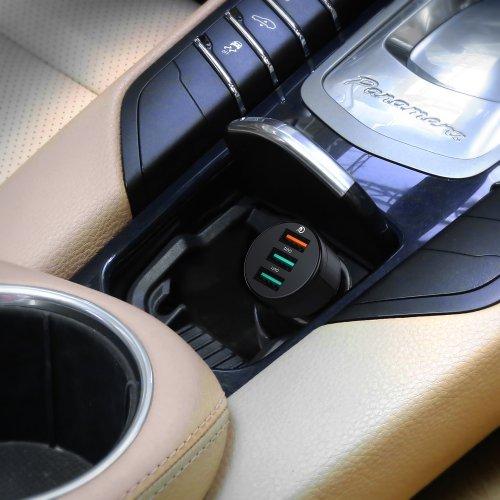 500126 - CC-T11 Car Charger 3 Ports 42W QC 3.0 & AiQ