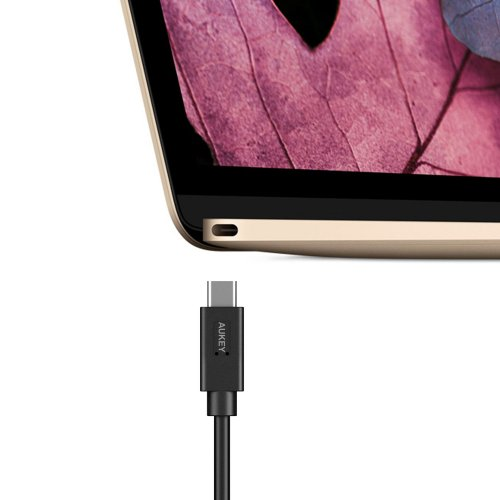 500187 - CB-C4 USB Type C (USB-C) Male to USB A Female Cable with Reversible Connector
